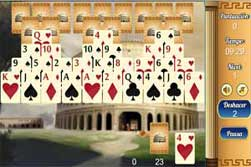 Solitario Piramide. Ancient Rome Solitaire
