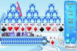 Solitario Piramide. Frozen Castle Solitaire