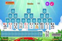 Solitario Piramide. Magic Castle Solitaire