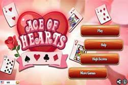 Solitario. Ace of Hearts